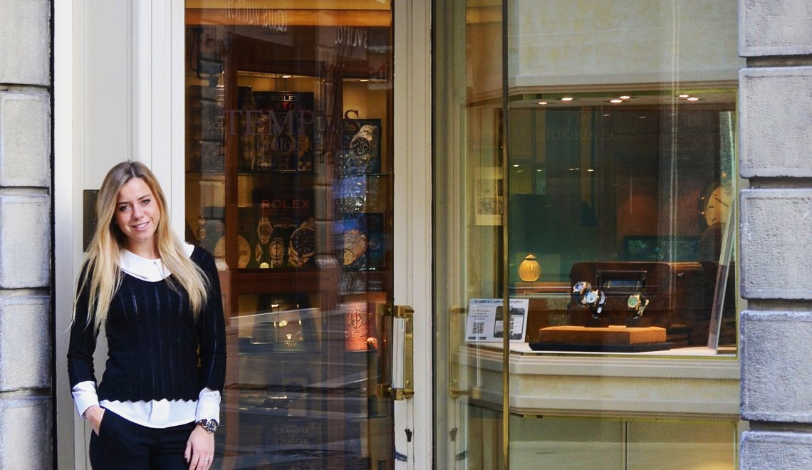 Story-Teller of vintage watches at Tempus |Maria Giovanna Piva