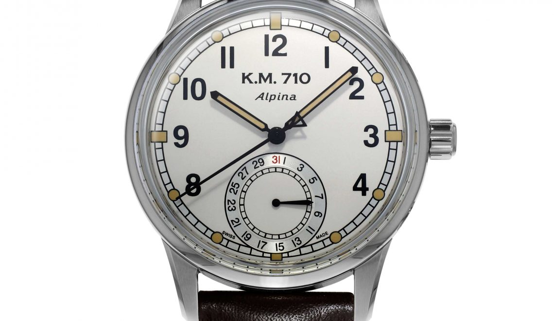 Back to the days of vintage Military timekeeping | The new Alpina KM-710