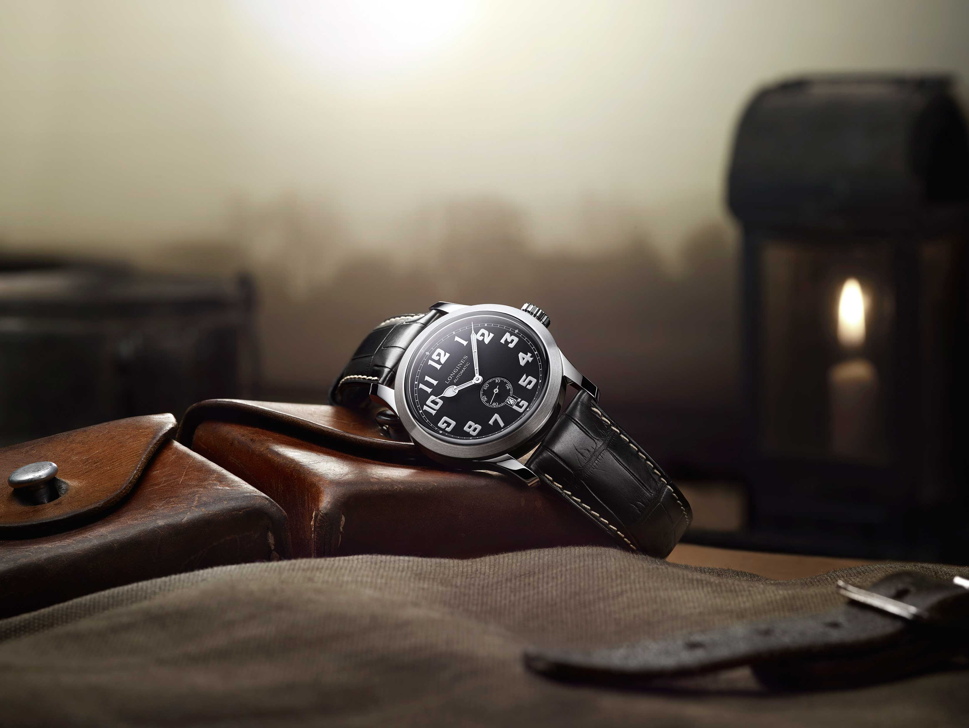The new Longines Heritage Military. Longines©