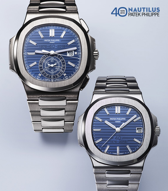 the celebration with a bad hangover | Patek Philippe's 40th Anniversary Editions