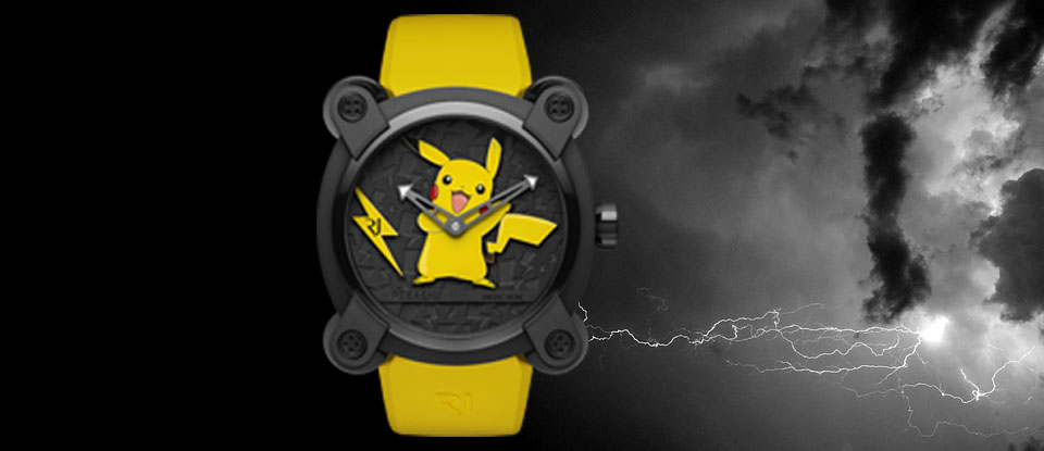 Gotta Catch 'Em All! | The new Romain Jerome Pikachu