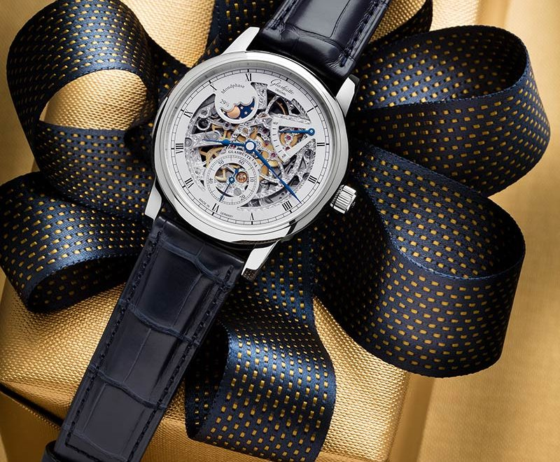 A Christmas Present From Glashütte | The New Senator Moon Phase Skeletonized Edition