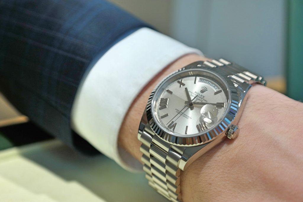 Rolex Day Date On Wrist