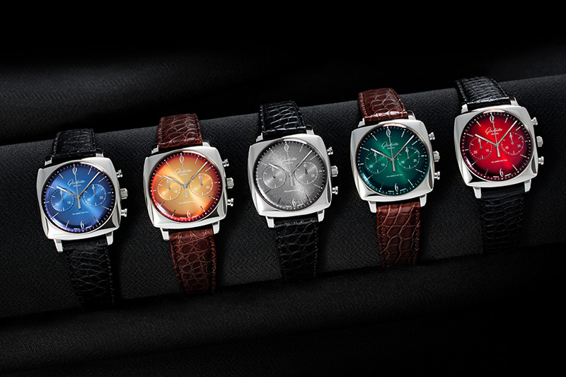 Glashütte Sixties Iconic Square Collection