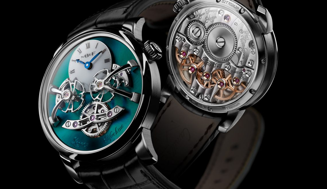 Titanium Green Polished Beauty | MB&F Legacy Machine 2 Ti