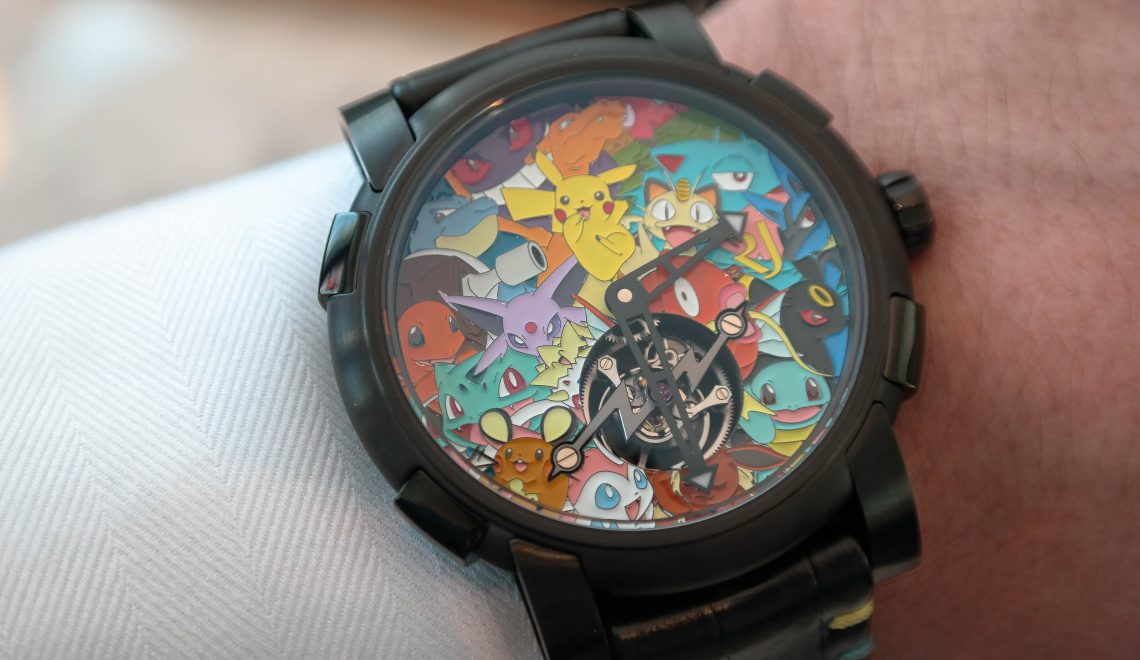 At Baselworld 2017 | Will the real Ash Ketchum please stand up?