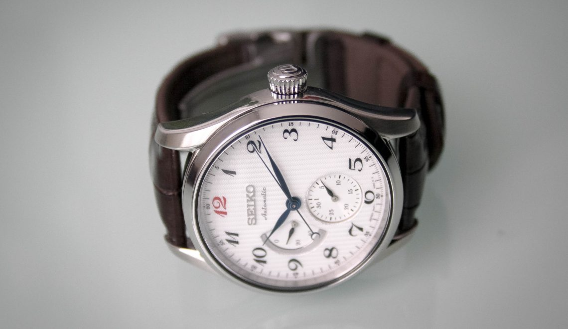 Watch this week | Seiko Presage Multi-hand power reserve indicator SPB041J1