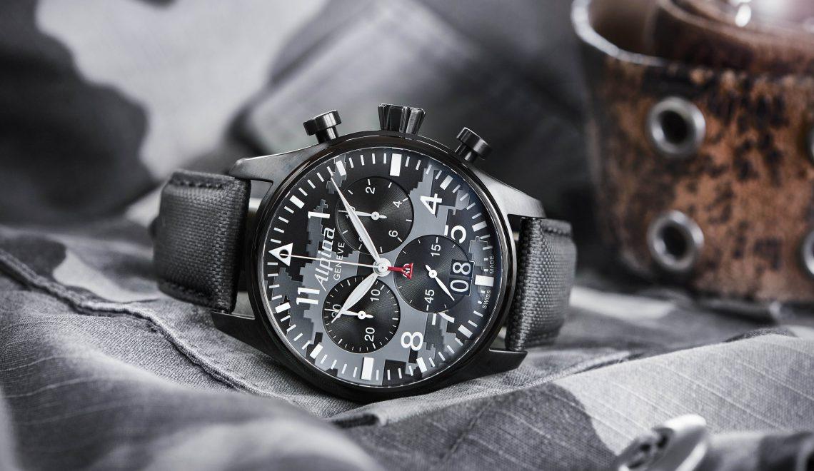 The new Alpina Startimer Pilot Quartz Big Date Chronograph