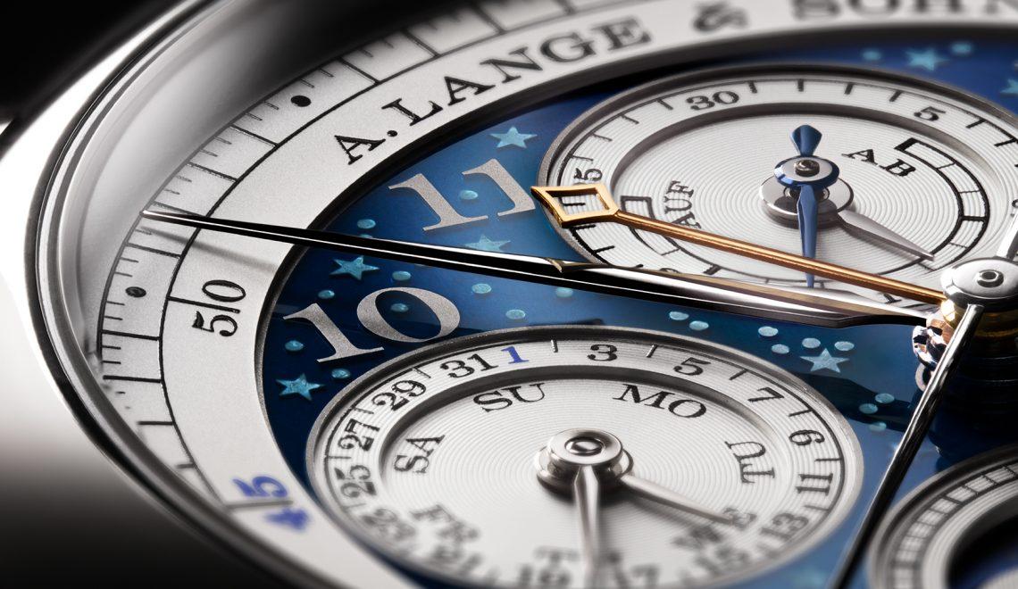 The new A Lange & Sohne 1815 Rattrapante Perpetual Calendar 'Handwerkskunst'