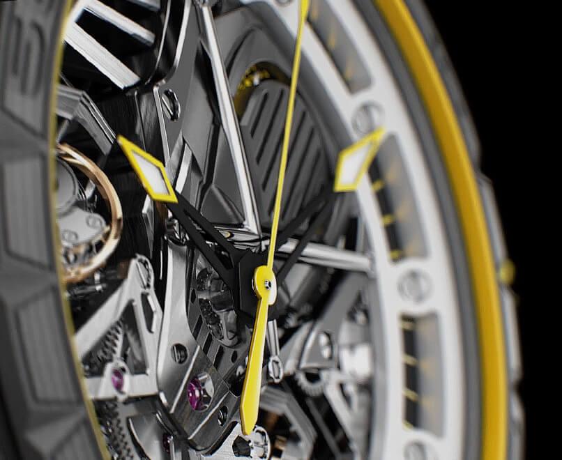 Roger Dubuis x Lamborghini Squadra Corse House of Chronos