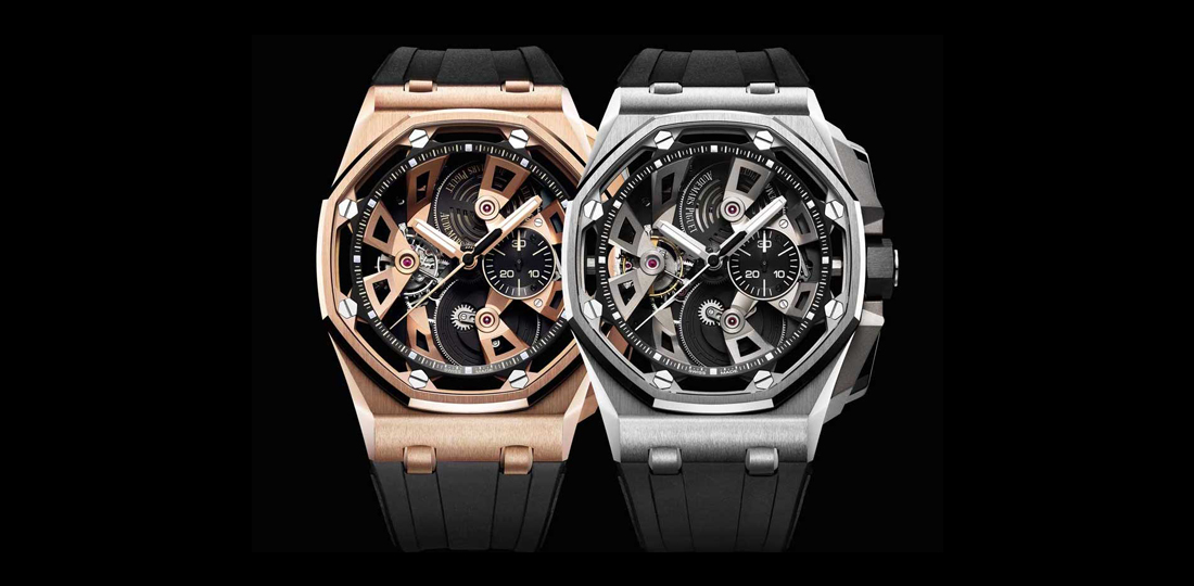 This is Audemars Piguets present for 25 years of Royal Oak Offshore