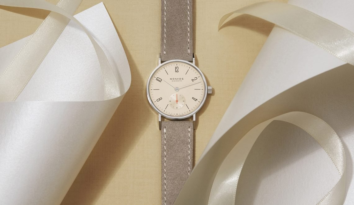NOMOS Glashütte brings champagne and reduced sizes for Christmas