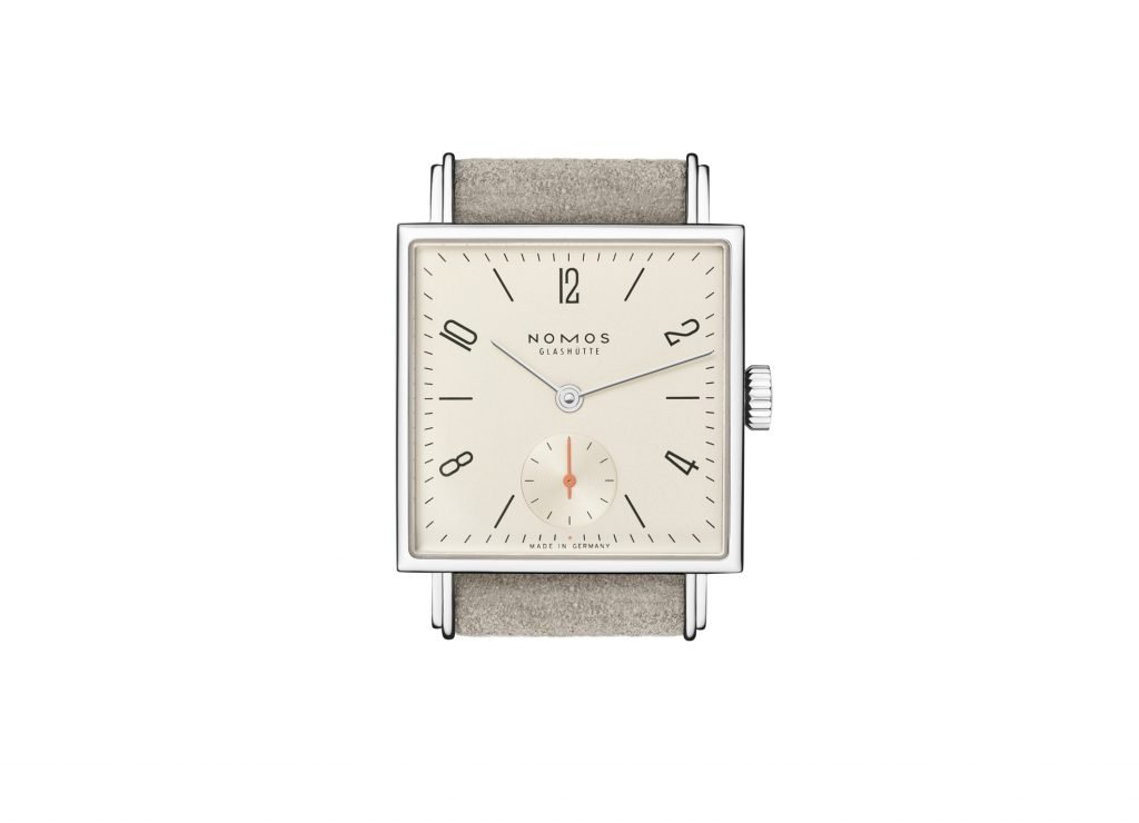Nomos Glashütte 33 series champagne coloured dial House of Chronos