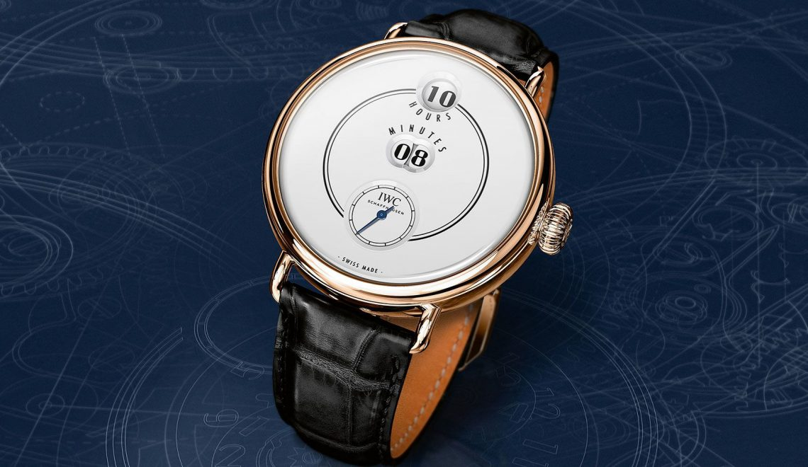 This is the new IWC Tribute to Pallweber Edition '150 years'