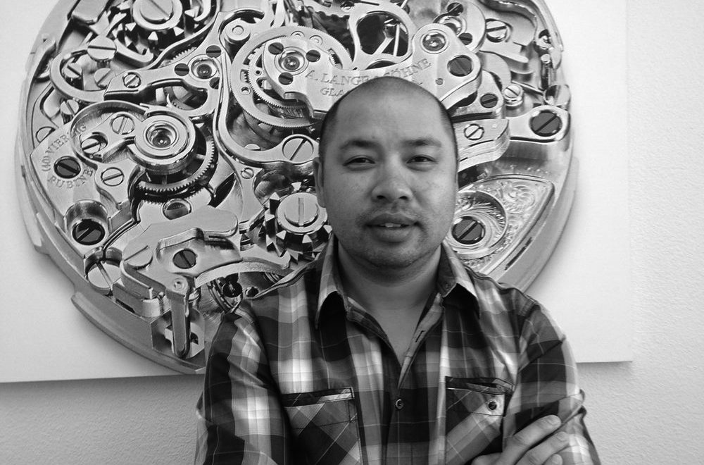 Mr. Nguyen in front of his personal favourite. Kenny Nguyen©