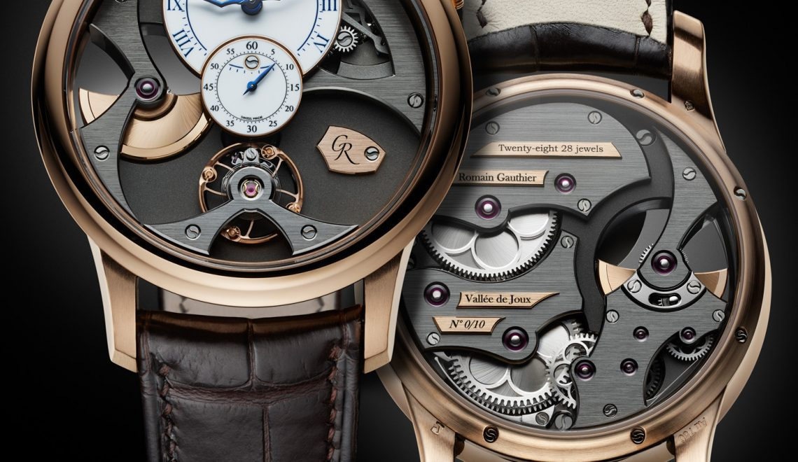 A new creation from the Vallée de Joux | The Romain Gauthier Insight Micro-Rotor