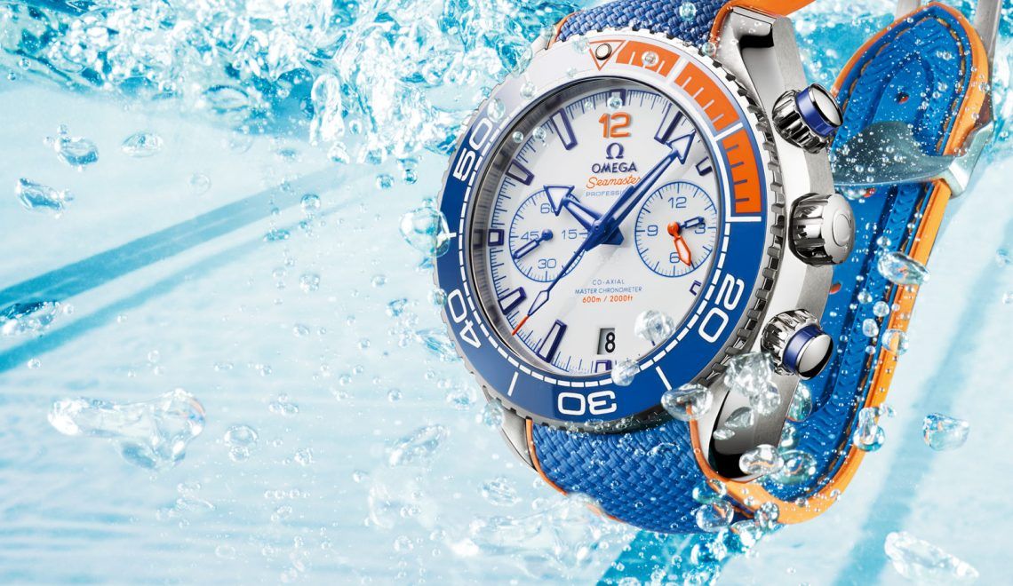 The new Omega Seamaster Planet Ocean 'Michael Phelps' limited edition